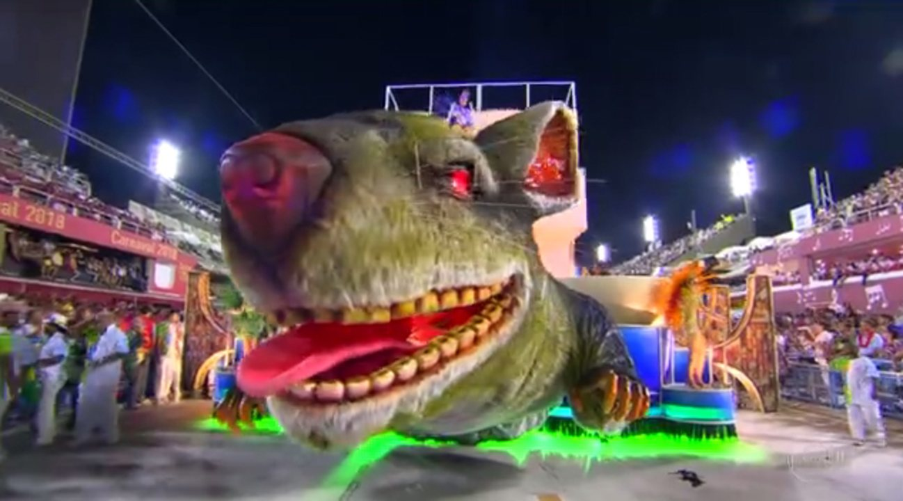 A Beija-Flor é a campeã do carnaval do Rio