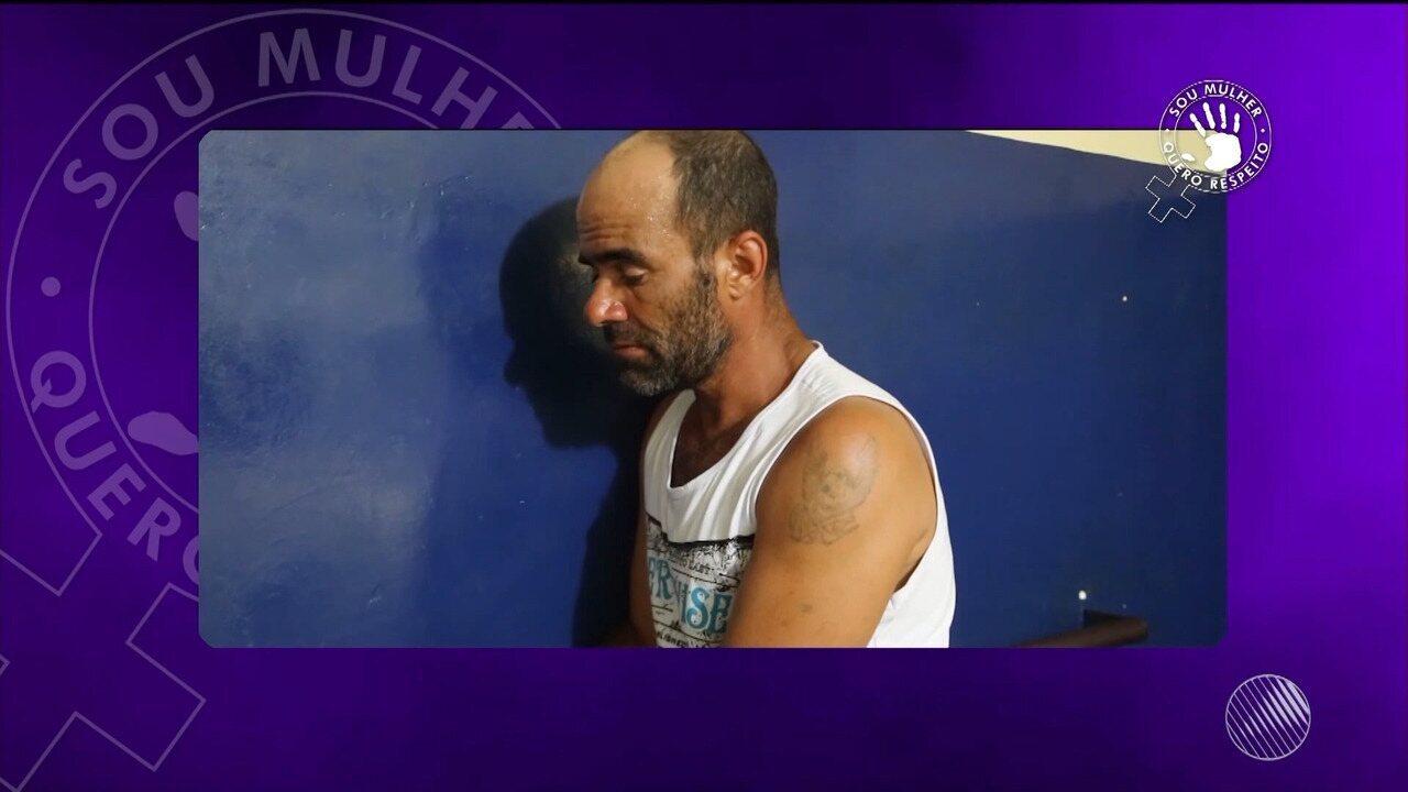 Homem é preso depois de espancar e jogar água quente no corpo da esposa, em Itabuna
