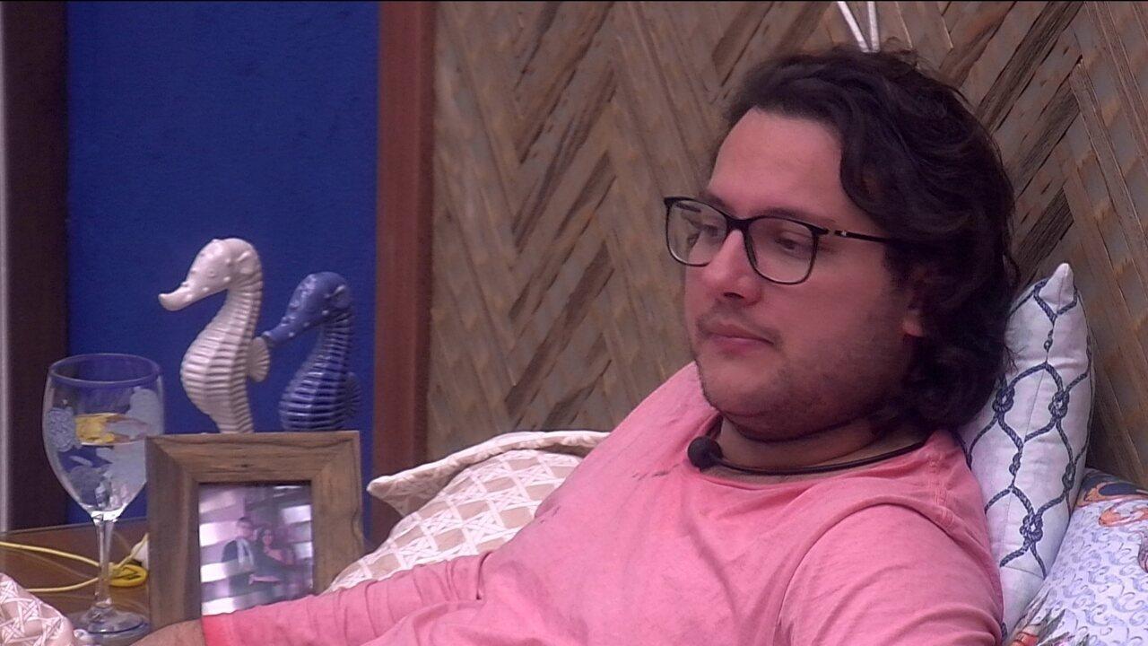 Diego relata conversa que teve com Wagner sobre Ana Paula: 'Sempre achou ela imatura'