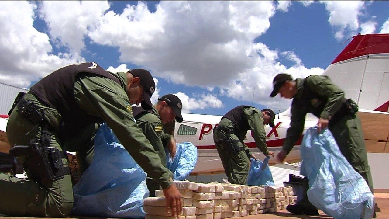 Suspeito de tráfico internacional de drogas é preso em Goiânia