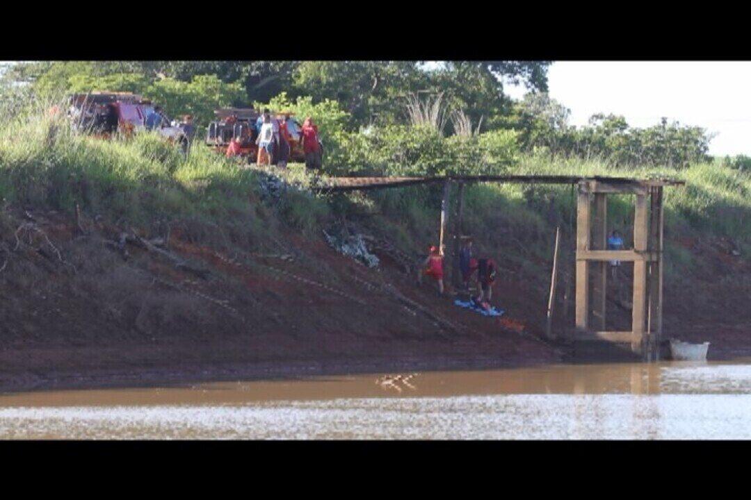 Vídeo mostra trabalho de resgate dos bombeiros em Paracatu