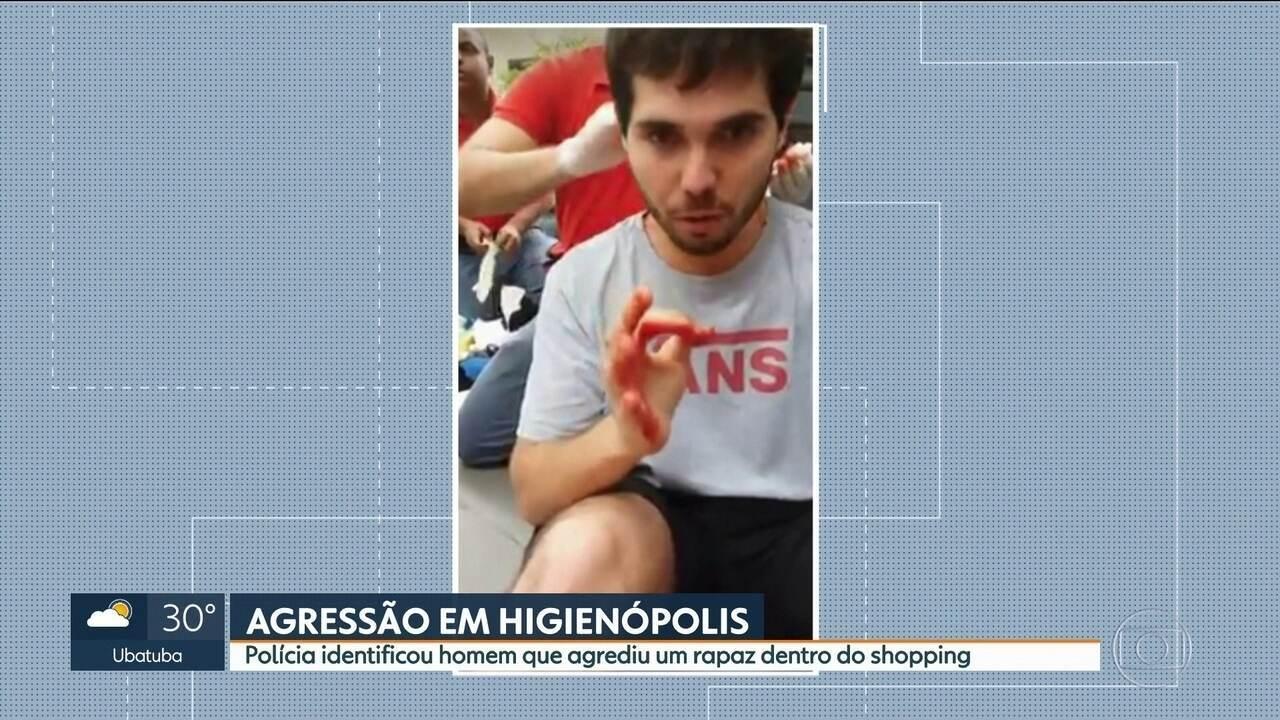 Polícia identifica homem que agrediu rapaz dentro do shopping em Higienópolis