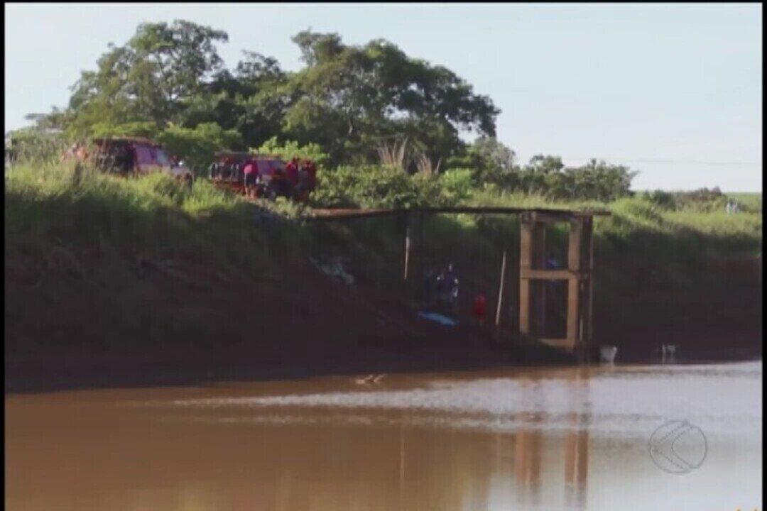 Buscas são feitas para resgatar corpo de sargento dos bombeiros que se afogou em Paracatu