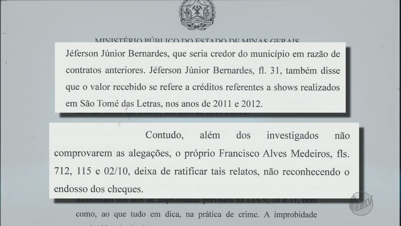 Justiça bloqueia bens de empresário e de ex-prefeito de São Tomé das Letras (MG)