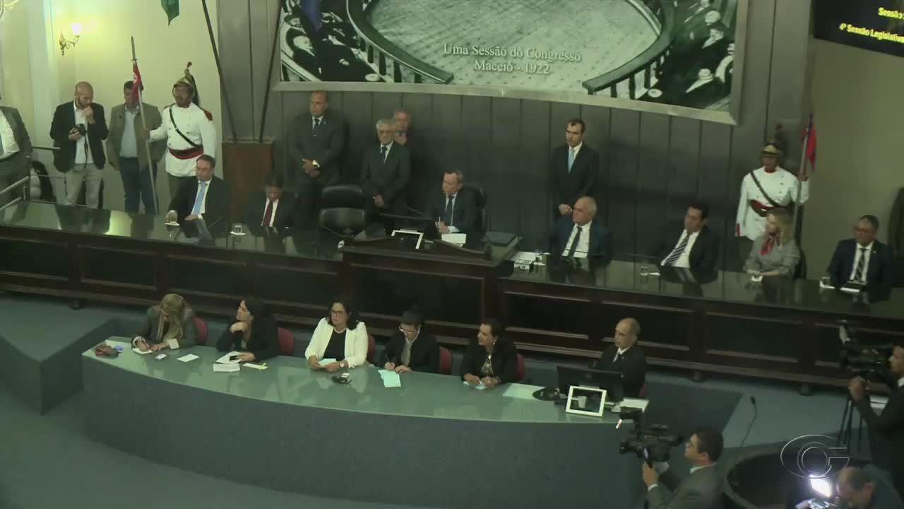 Governador Renan Filho faz prestação de contas na ALE