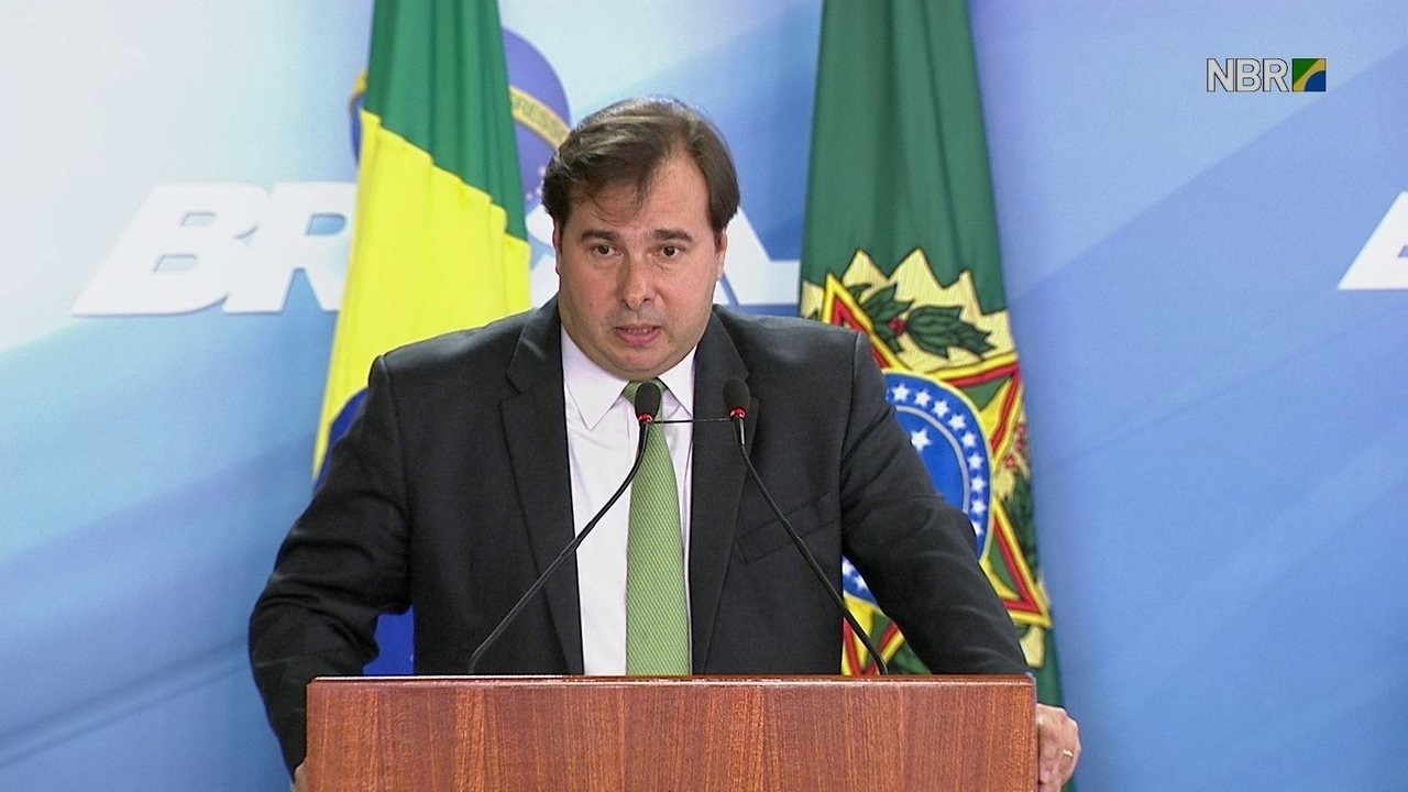 Maia diz que intervenção talvez seja última oportunidade de recuperar o RJ para população