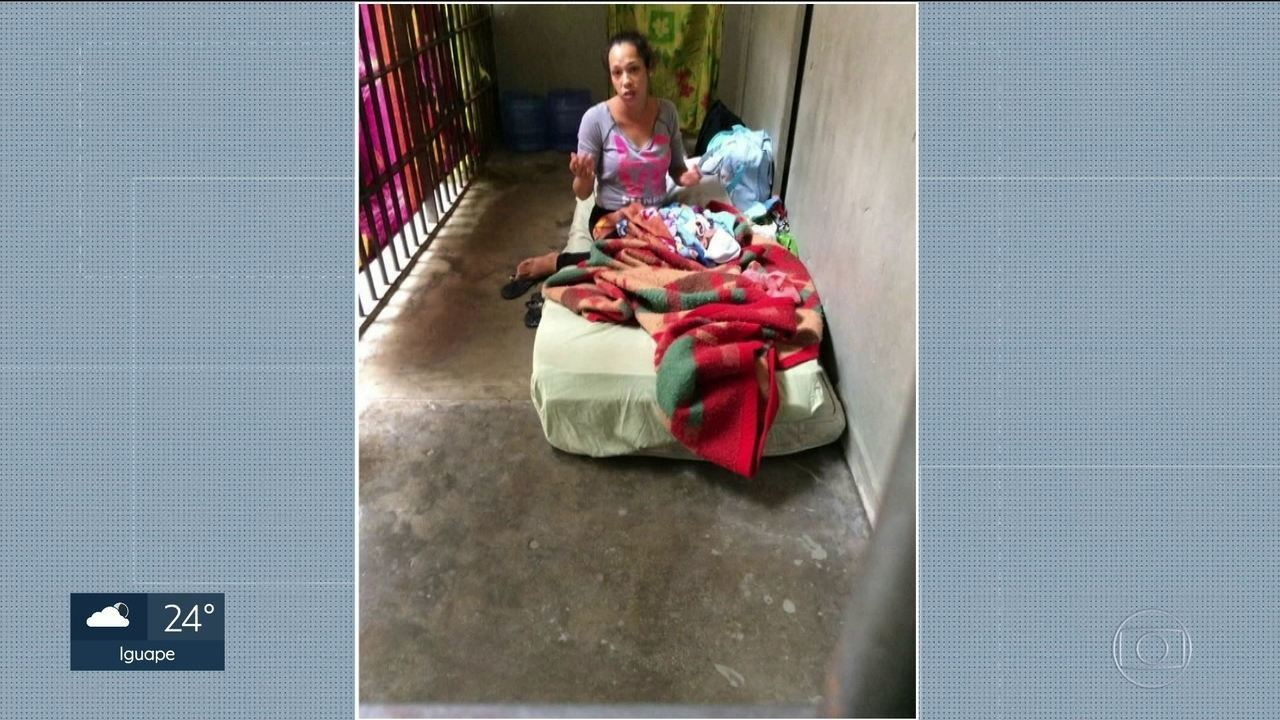Justiça determina que mulher presa com bebê vá para prisão domiciliar