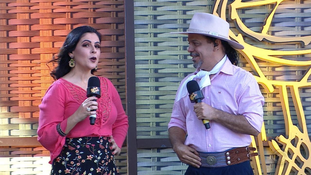 César Oliveira & Rogério Melo e Fátima Gimenez se apresentam no 'Galpão Crioulo' (bloco 3)