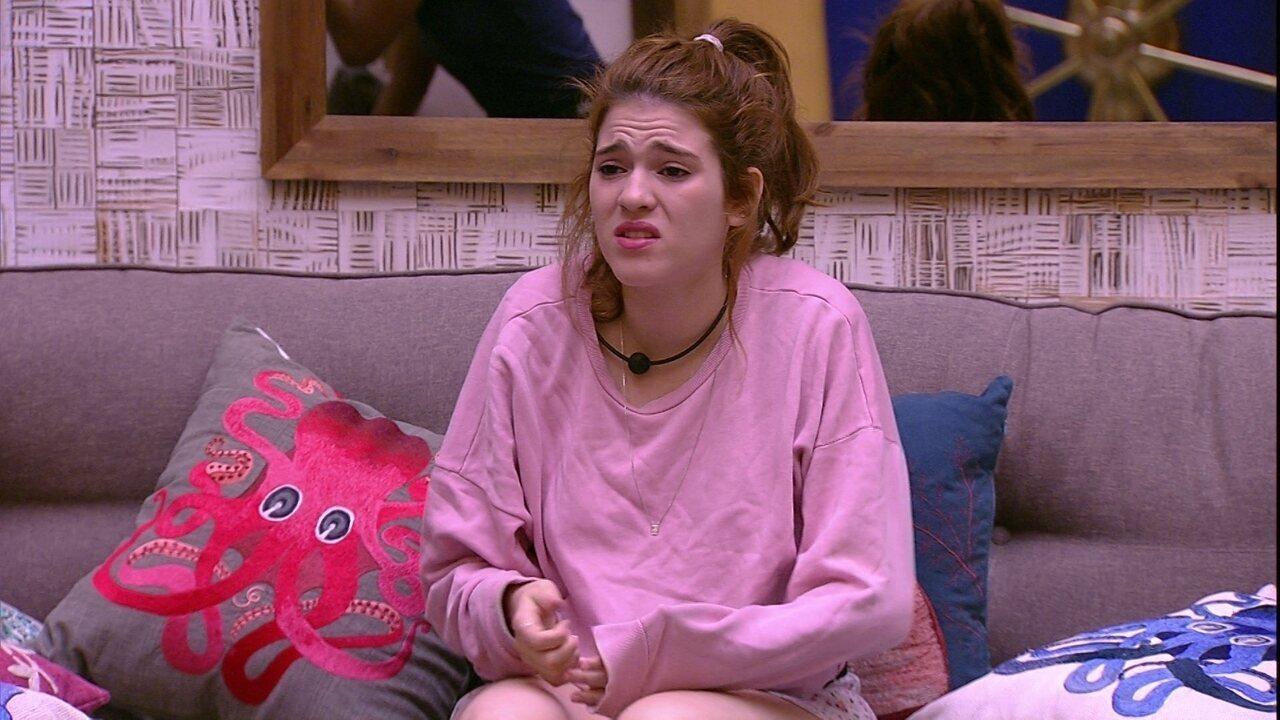 Ana Clara volta a falar do pai: 'Acordei de ovo virado'