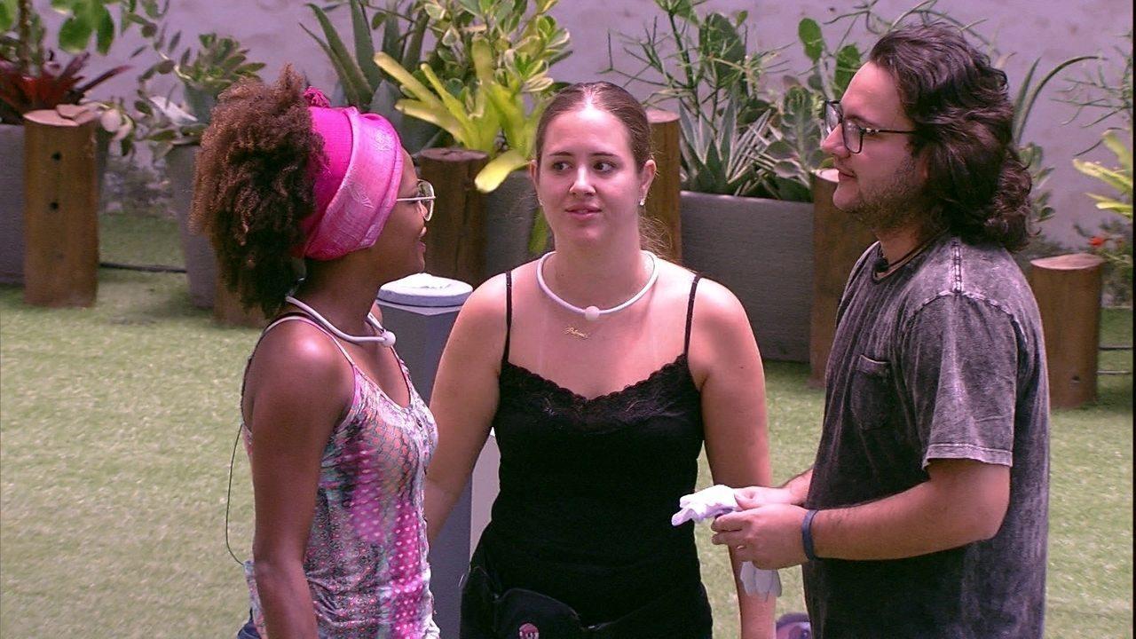 Patrícia comenta sobre Prova do Anjo: 'A gente pelo menos usou a cabeça'