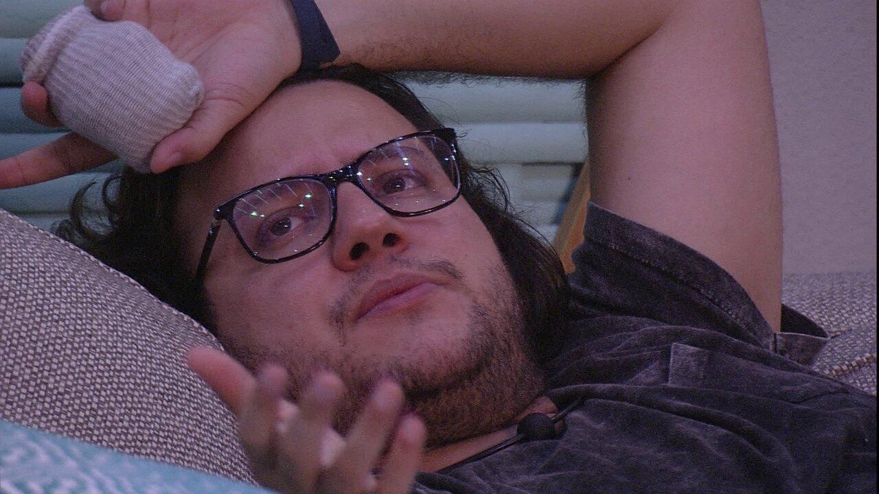 Diego diz que não entende o jogo de Nayara