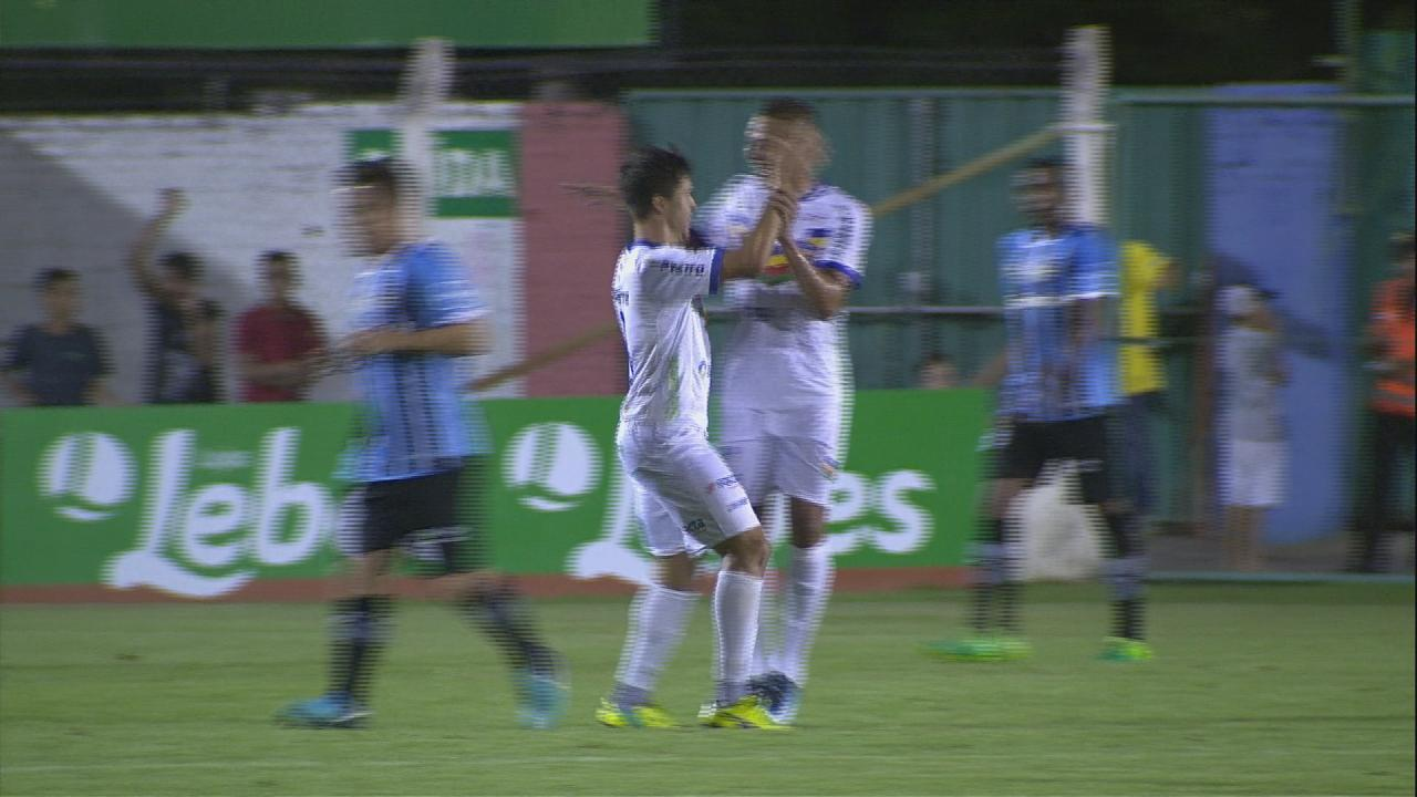 c598682587 Melhores momentos  Veranópolis 2 x 1 Grêmio pela 8ª rodada do Campeonato  Gaúcho 2018