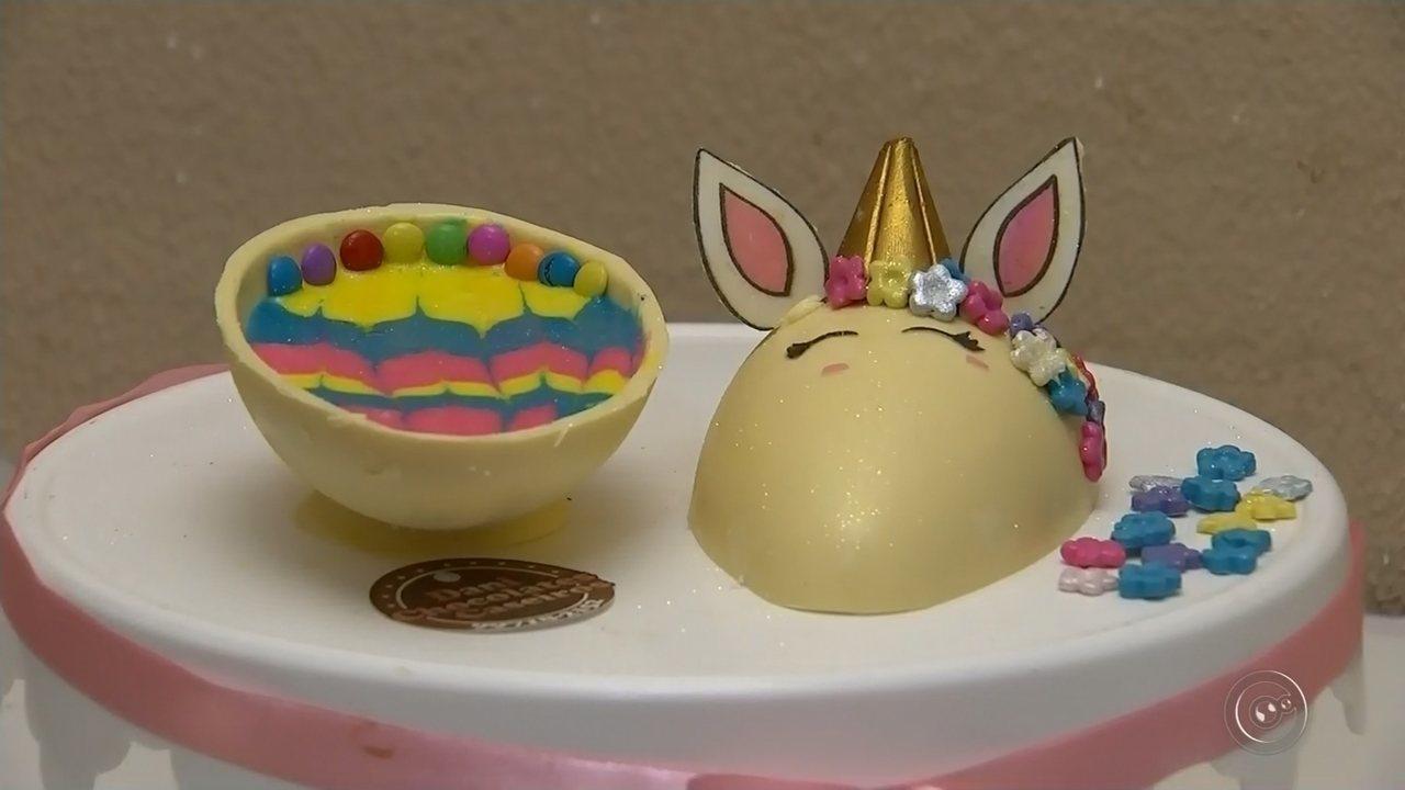 Supermercados esperam vender mais ovos de Páscoa este ano
