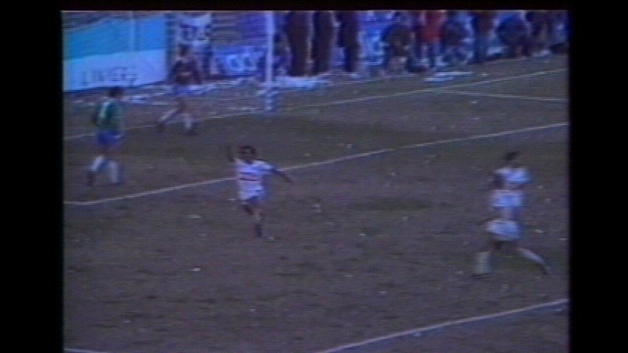 Em 1988, Cruzeiro perde a final da Supercopa da Libertadores para o Racing