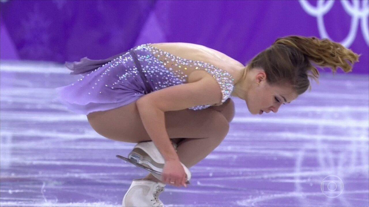 Veja na íntegra a apresentação de Isadora Williams na patinação artística em PyeongChang