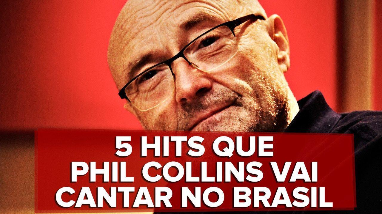 Polícia Federal retém Phil Collins no Galeão por problema no visto