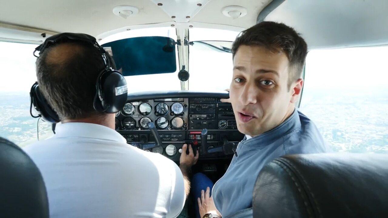 'Estúdio C' vai dar um passeio pela história da aviação paranaense