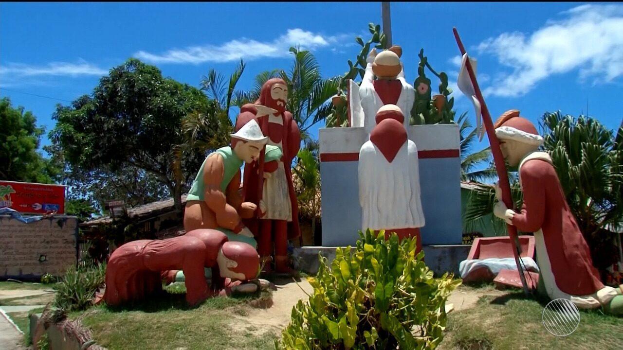 Ordem de demolição de monumento no extremo sul da Bahia divide opiniões na região