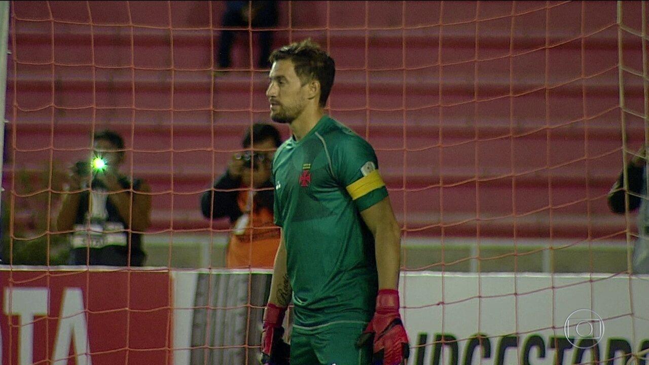 Vasco vence Jorge Wilstermann-BOL e se classifica para fase de grupos da Libertadores