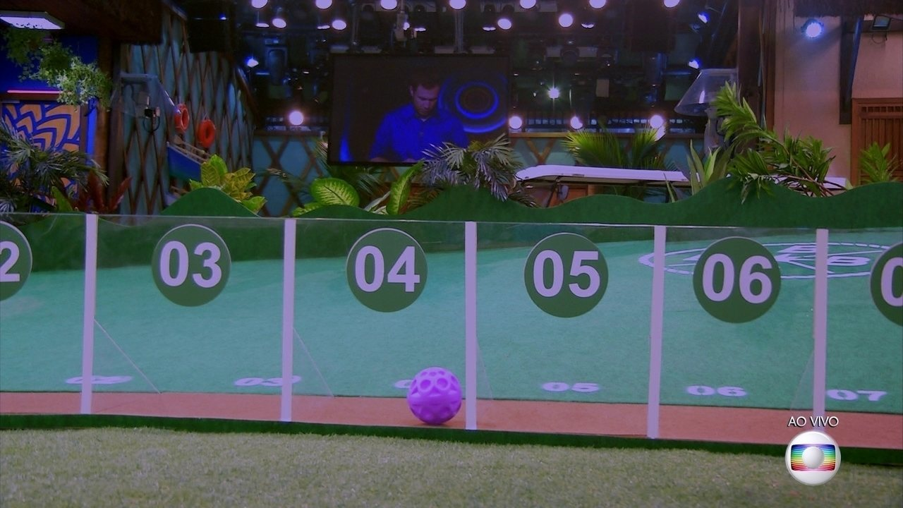 Prova do Líder Golfe Inclinado: Ayrton faz 4 pontos na segunda rodada