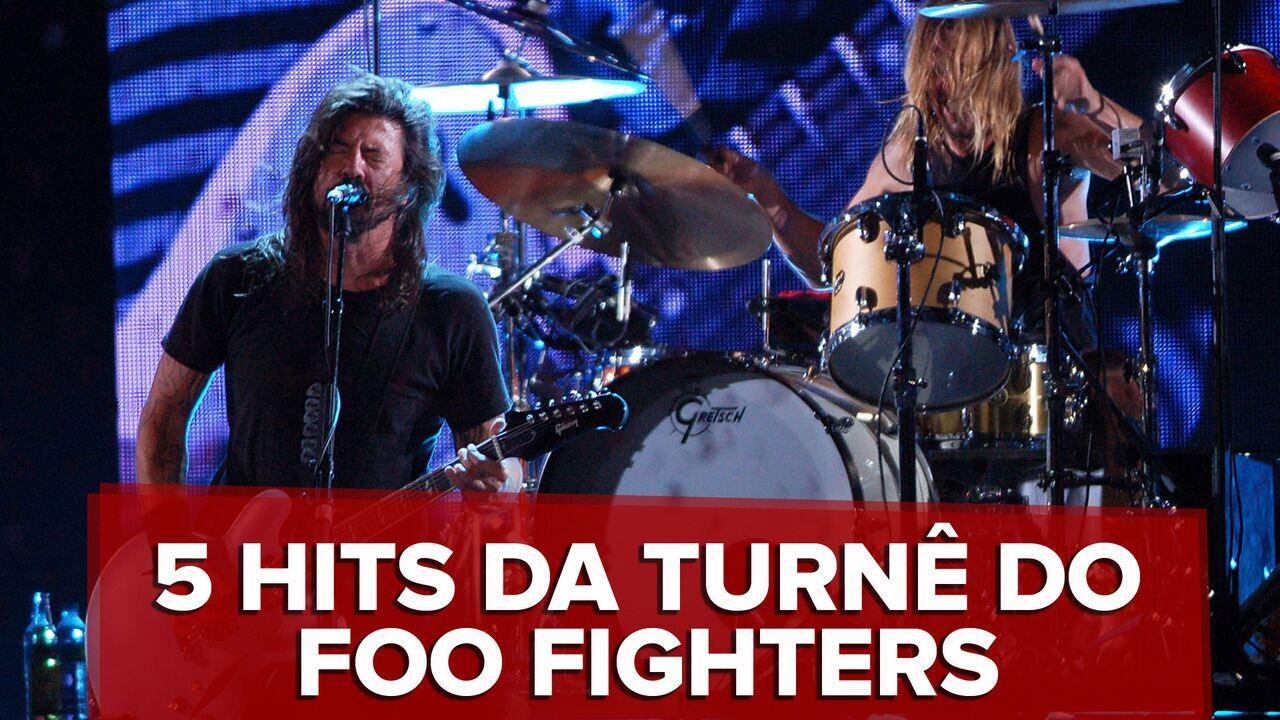 Veja 5 músicas que o Foo Fighters deve tocar no Brasil