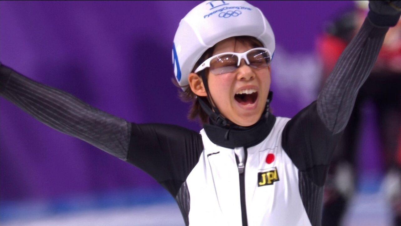 Japonesa consegue recuperação incrível e ganha o ouro na largada em massa feminina
