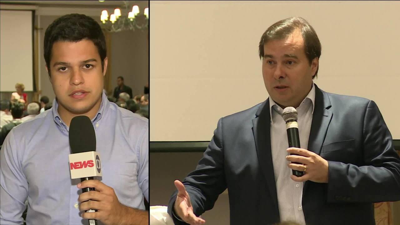 Rodrigo Maia lança observatório para acompanhar intervenção federal no RJ
