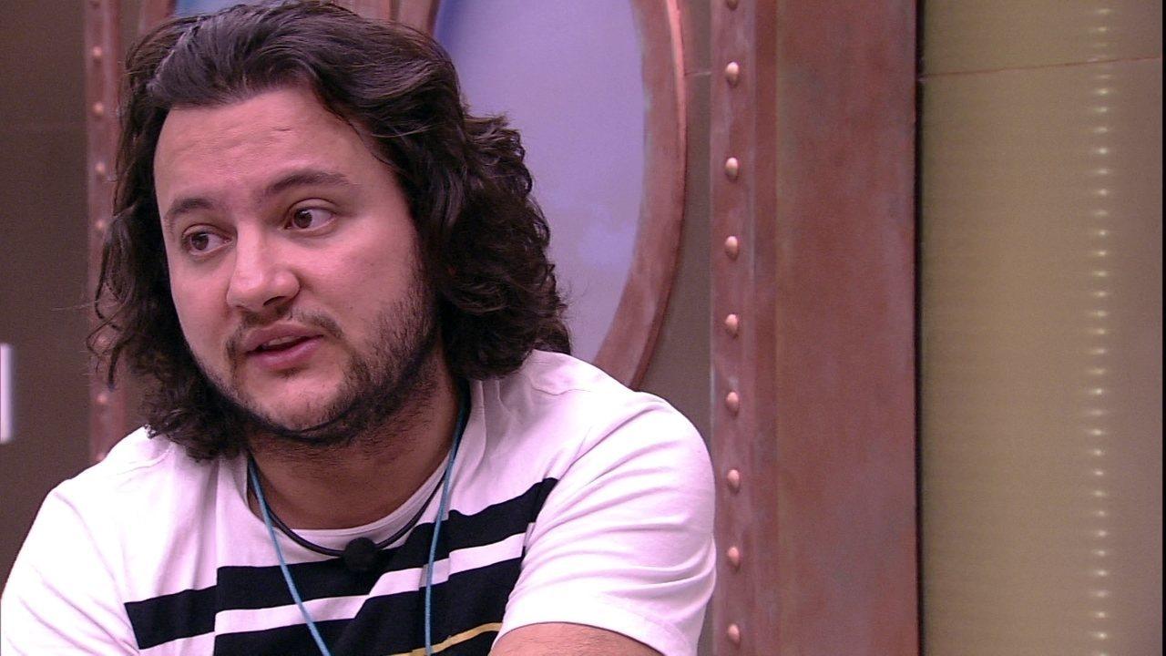 Diego revela Anjo para Patrícia: 'Minha estratégia é me defender'