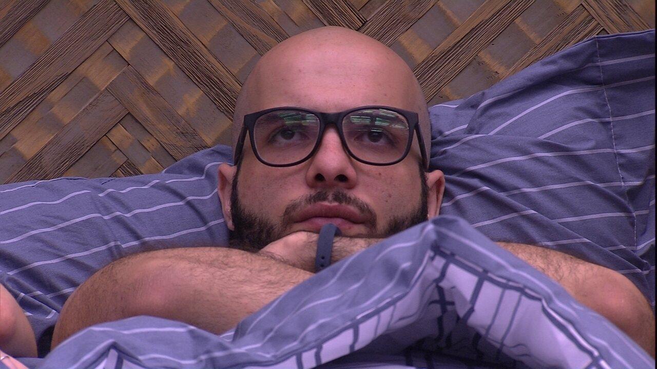 Mahmoud opina sobre votação: 'Acho que pode dar empate entre Lucas e Caruso'