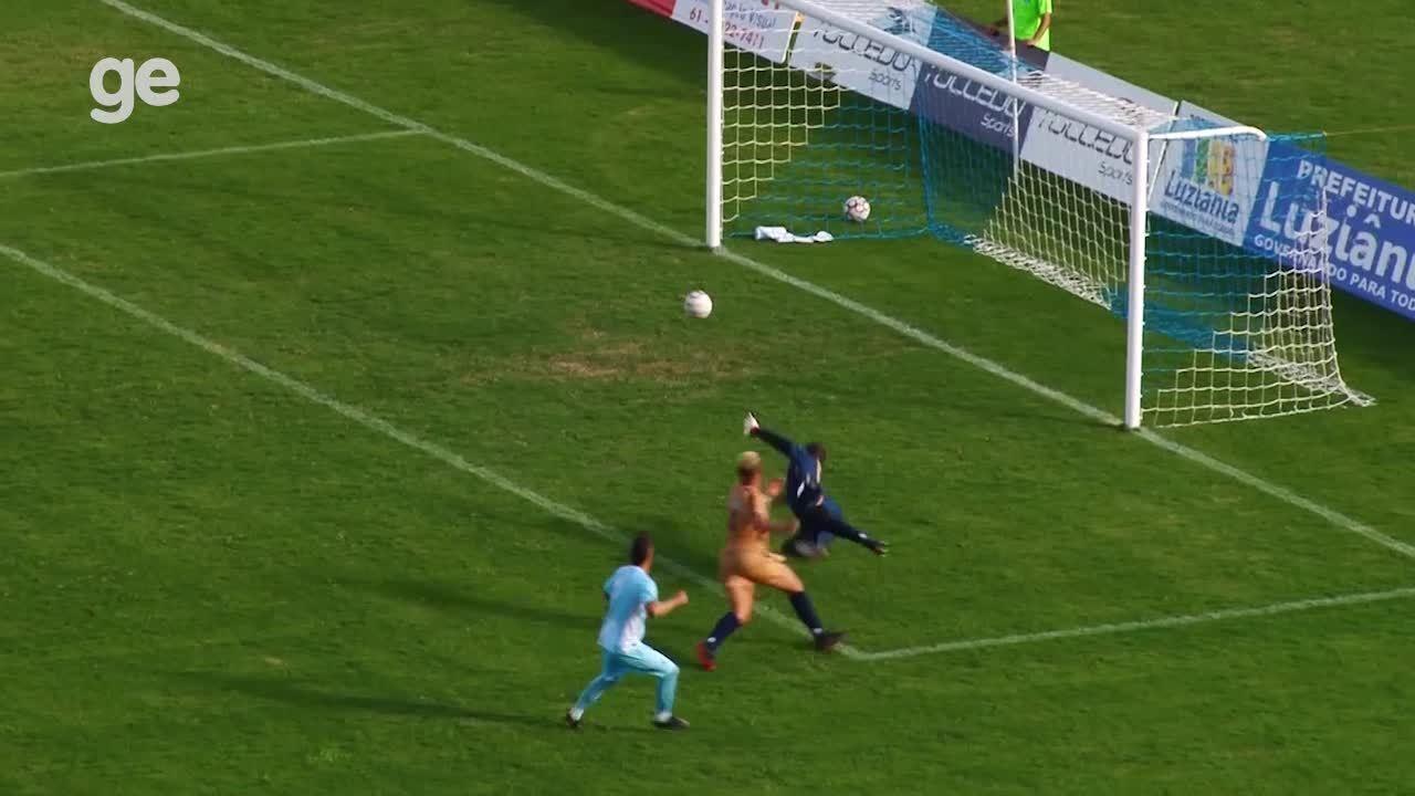 Os gols de Luziânia 3 x 3 Real pelo Campeonato Brasiliense 2018