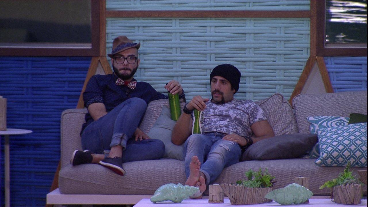 Mahmoud diz que gostaria de ser Líder novamente: 'Quero entrar carregado'