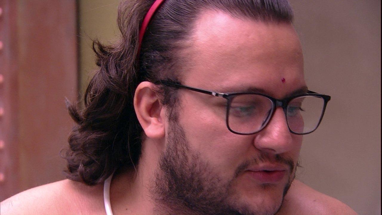 Diego consola Jéssica: 'É um luto que você vai ter que lidar'