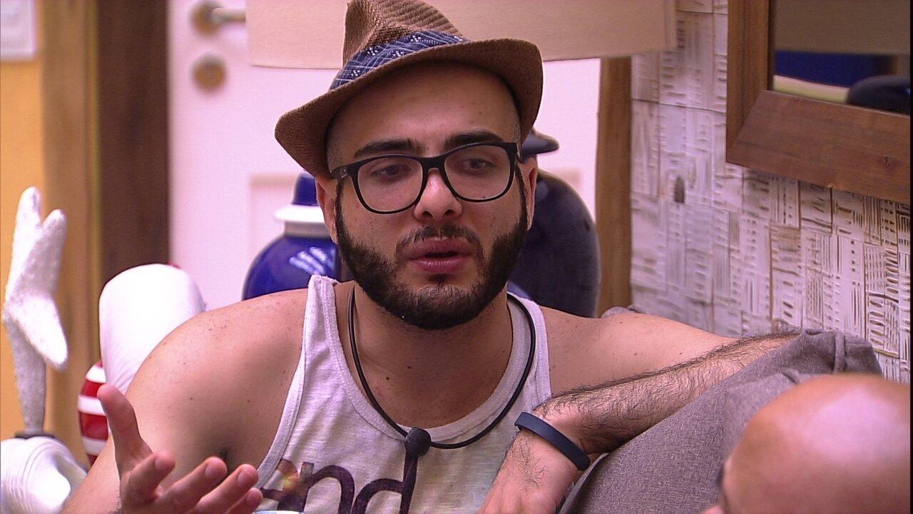 Mahmoud revela desejo de Lucas: 'Pediu que cuidasse da Jéssica'