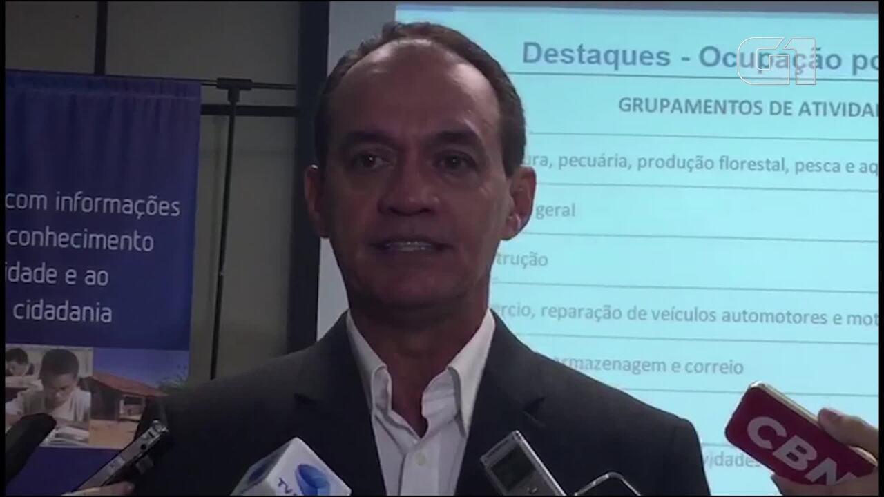 Vídeo: Coordenador do IBGE diz que queda na carteira de trabalho assinada segue segurando recuperação do mercado de trabalho