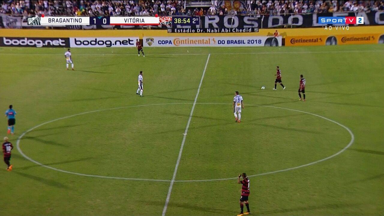 Veja os melhores momentos de Bragantino 1 x 0 Vitória
