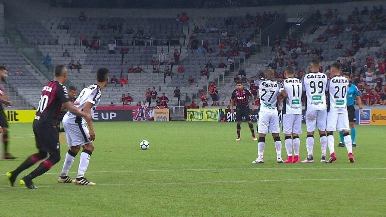Melhores momentos: Atlético-PR 0 x 0 Ceará, pela Copa do Brasil