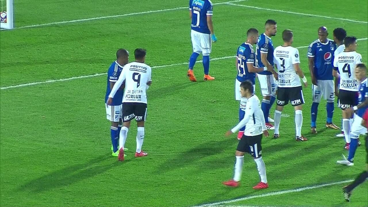 Melhores momentos: Millonarios 0x0 Corinthians, pela Taça Libertadores da América
