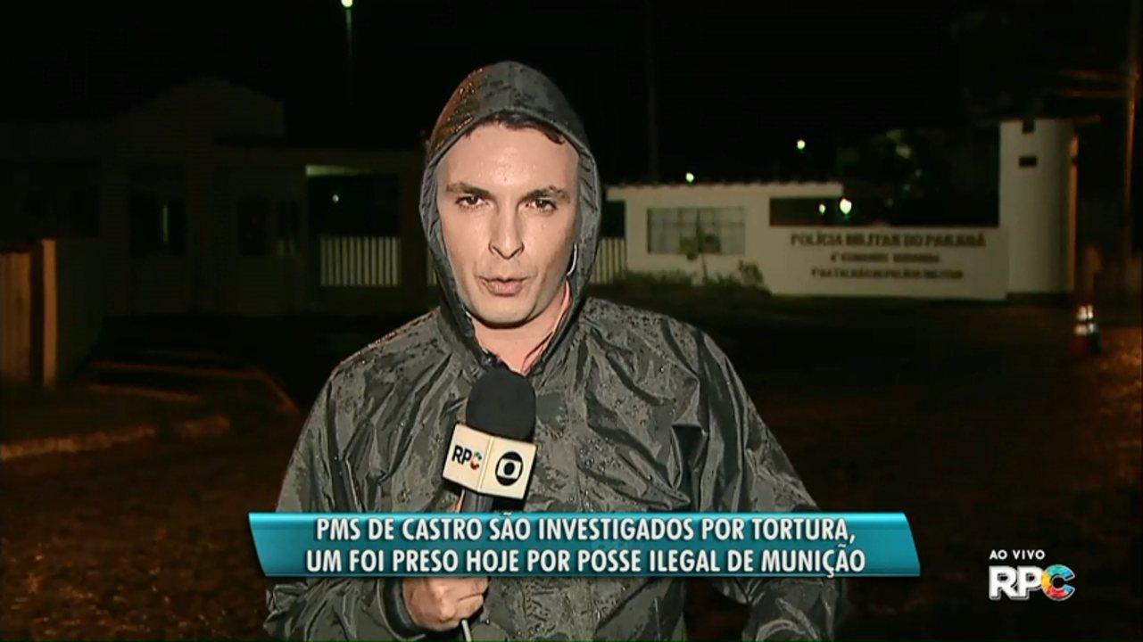 Policiais Militares são acusados de torturar adolescente em Castro
