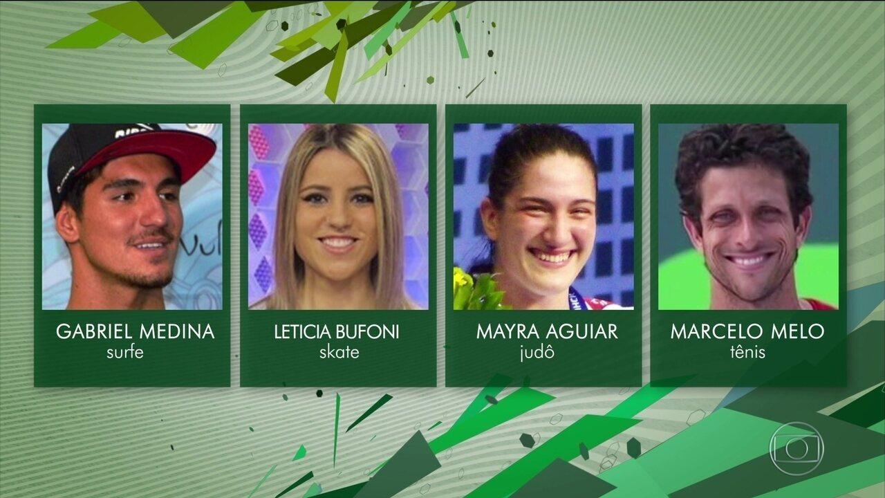 Confira os candidatos ao Prêmio Brasil Olímpico