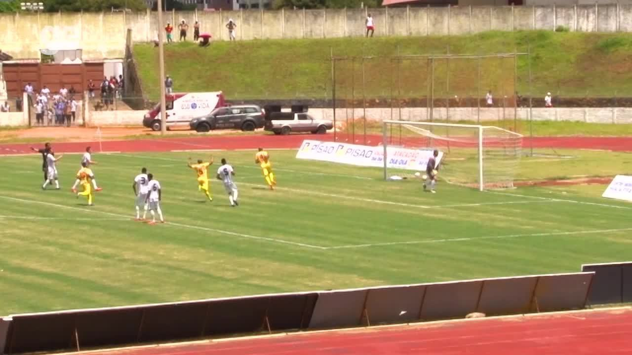 Os gols de Sobradinho 1 x 2 Brasiliense pelo Campeonato Brasiliense