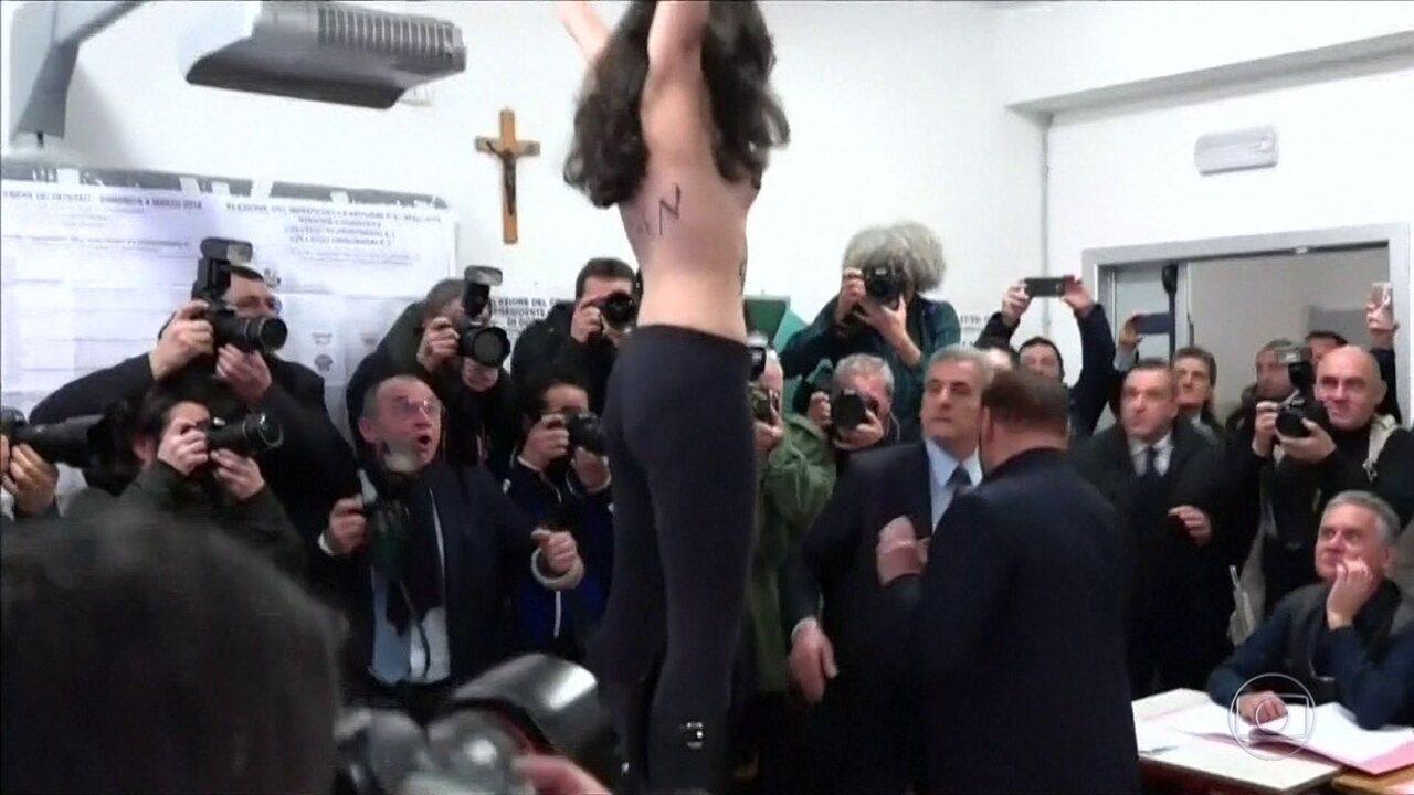 Itália realiza eleições para escolher novo governo