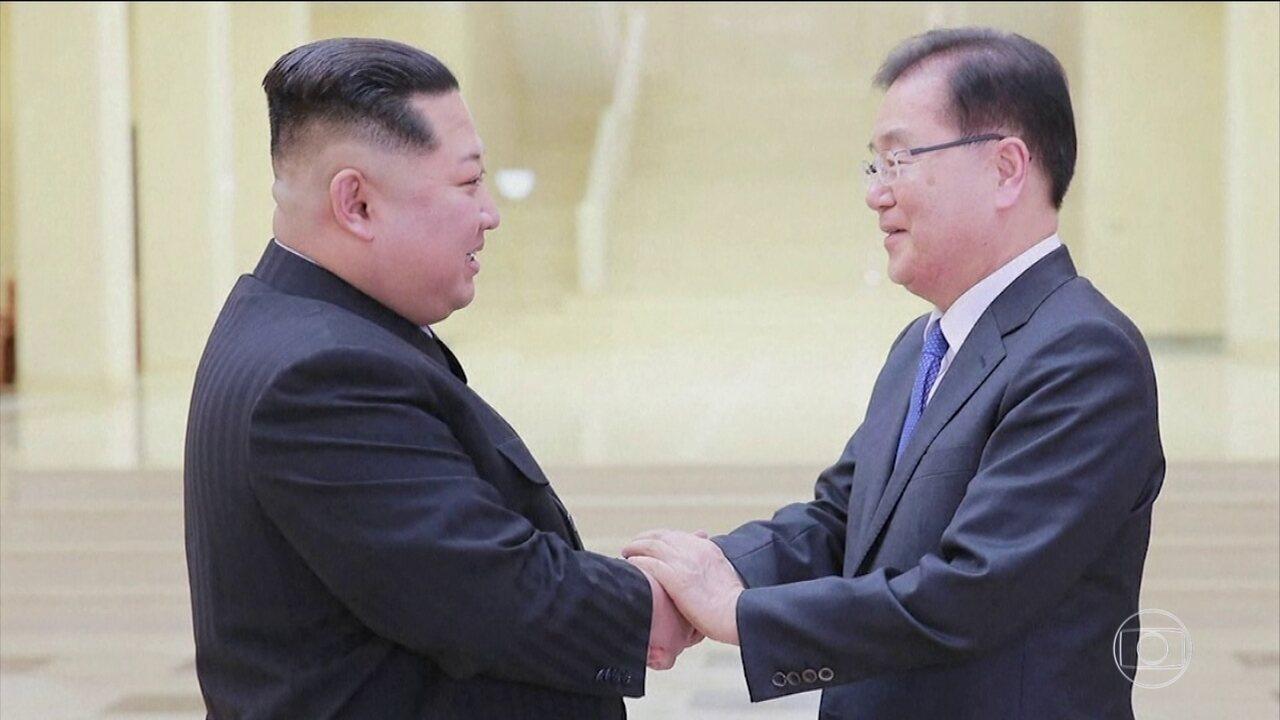 Coreia do Norte promete suspender testes nucleares e de mísseis