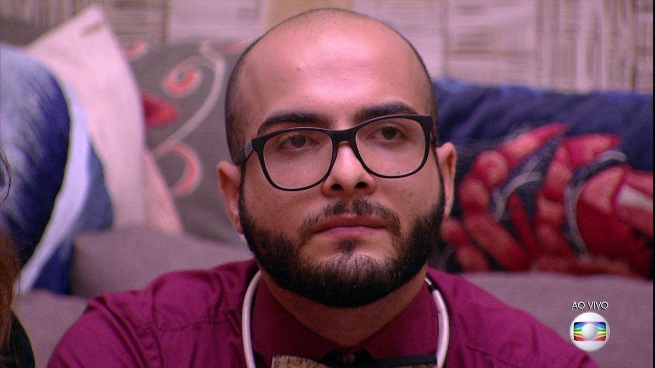 Mahmoud é o sexto eliminado do BBB18 com 57,23% dos votos
