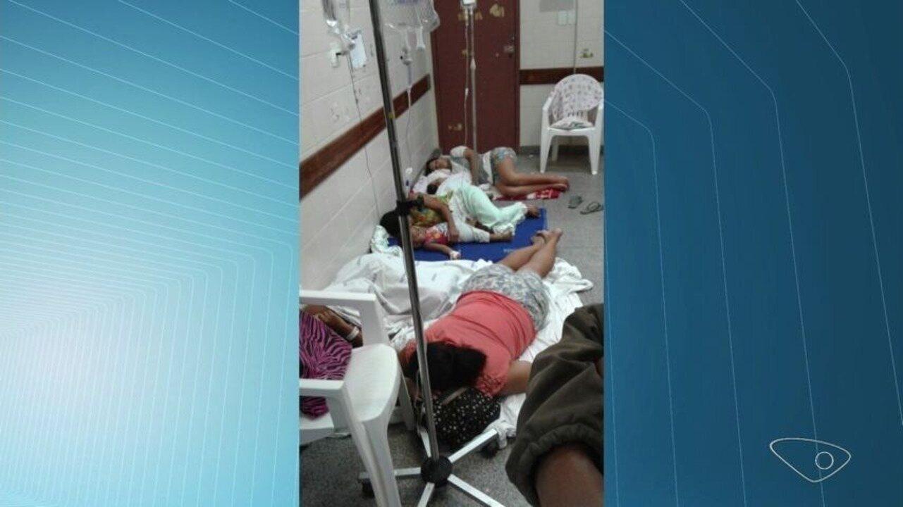 Hospital tem crianças internadas no chão e em leitos improvisados no ES