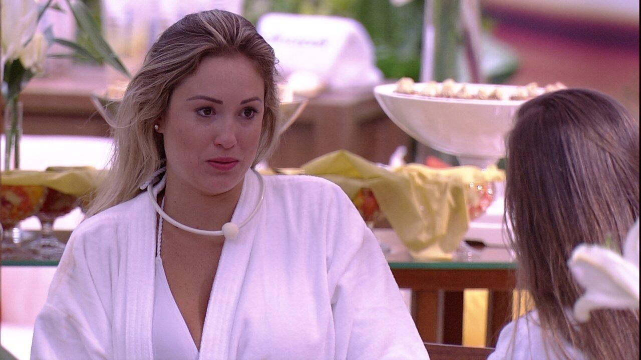 Jéssica dispara sobre Lucas: 'Se eu quisesse, teria pego'