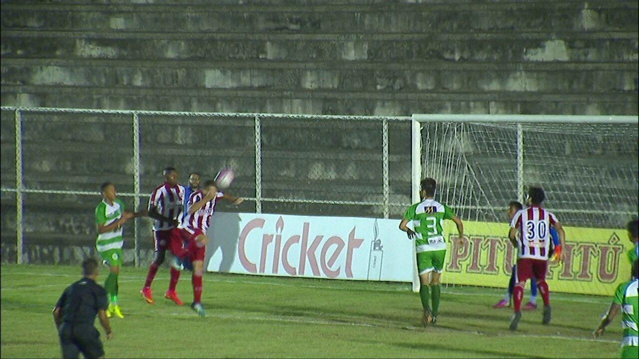 Veja os gols do Náutico contra o Belo Jardim com as assistências de Rogerinho