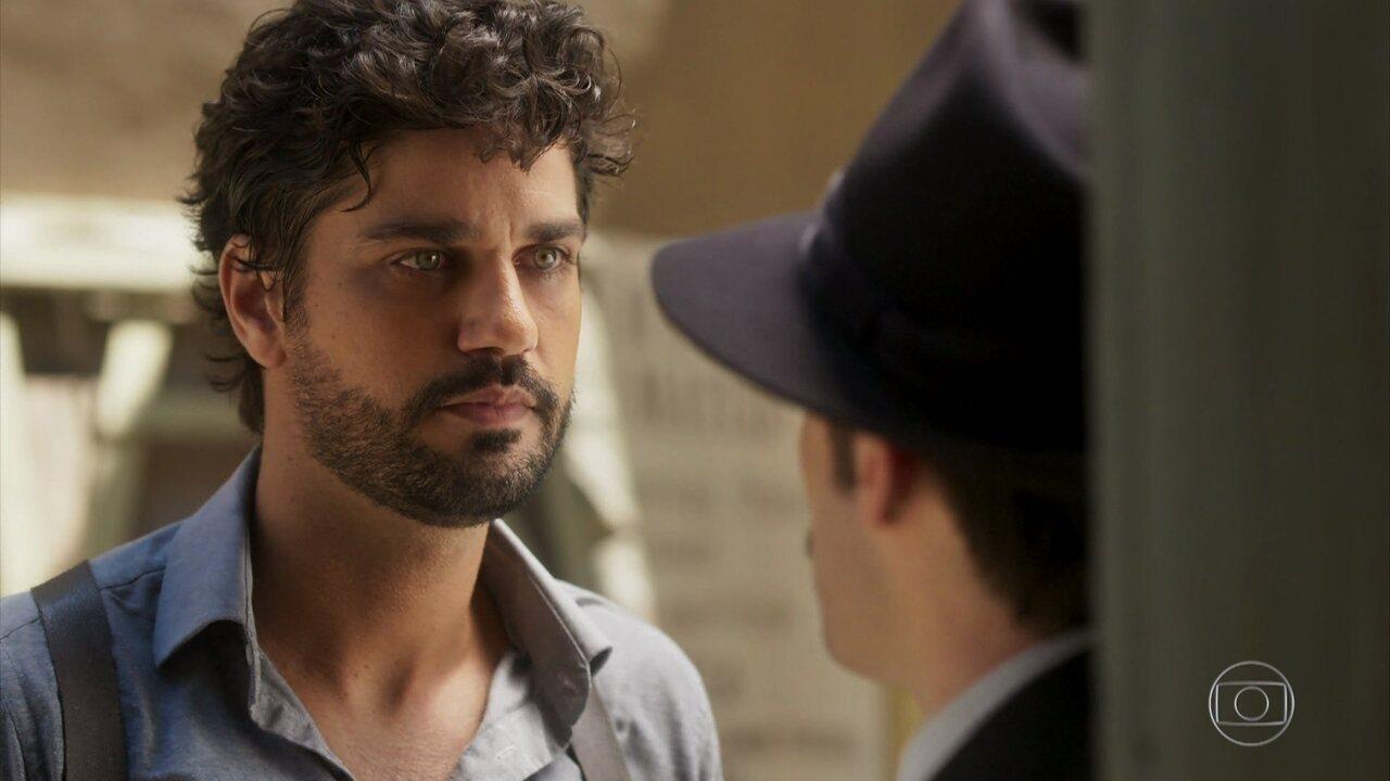 Inácio confronta Fernão e revela que Tereza está grávida