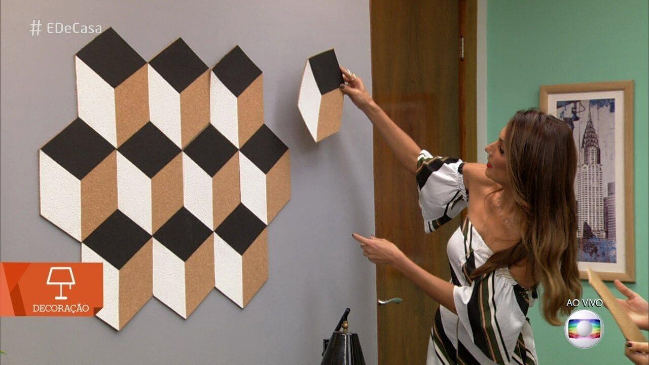 De casa saiba como decorar a parede de casa com for Decorar casa 3d online
