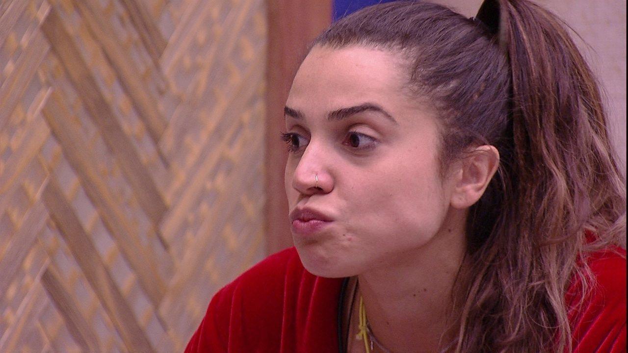 Paula indaga Jéssica: 'Se empatar Diego e Família?'