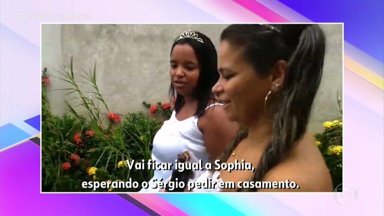 Família Rangel zoa Sophia Abrahão em brincadeira parodiando o BBB
